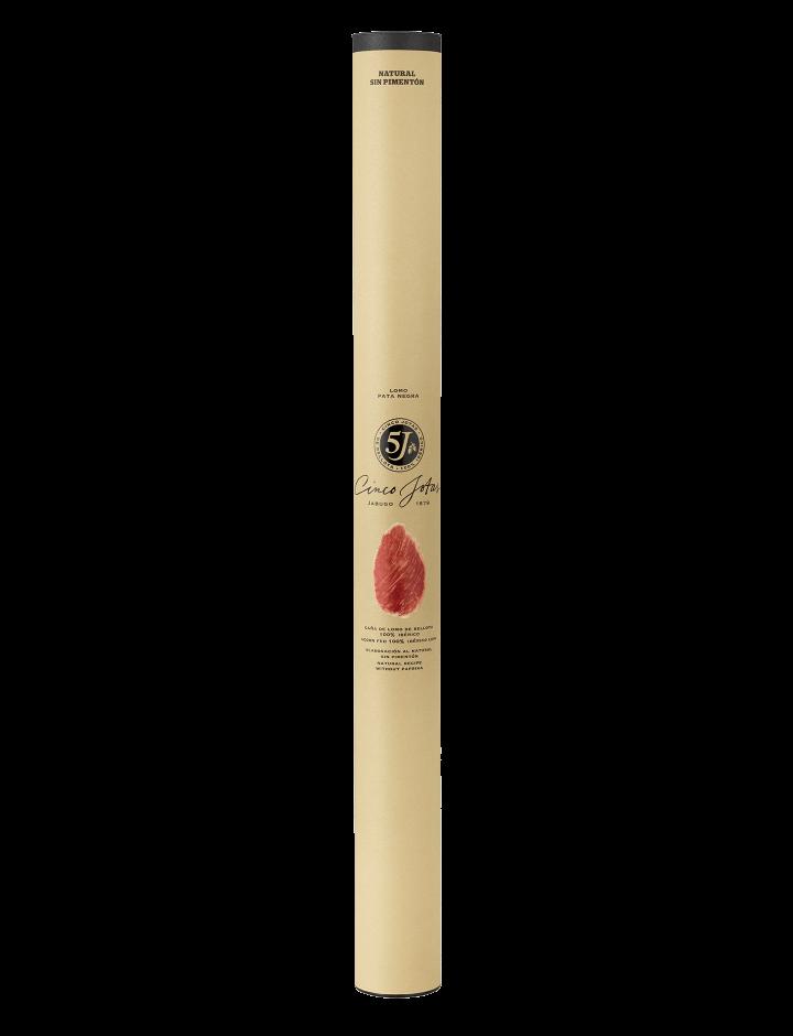Caña Entière de Lomo de Porc de Bellota 100% Ibérico (Saucisse Sèche) Cinco Jotas Recette Traditionnelle