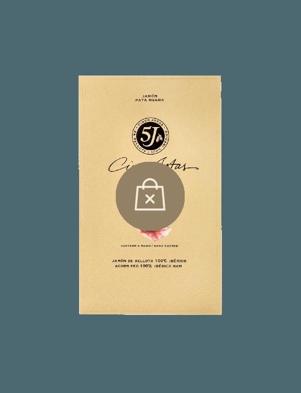 Le Jambon de Bellota 100% Ibérico Cinco Jotas Tranché 70g