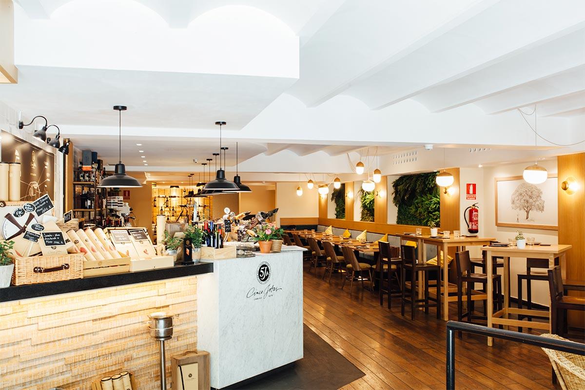 Restaurant CincoJotas Barcelona
