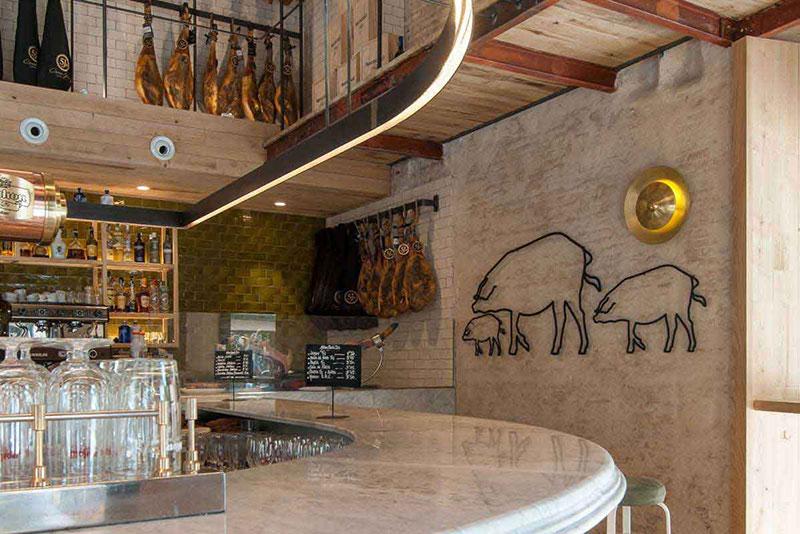 Restaurant Cinco Jotas Seville